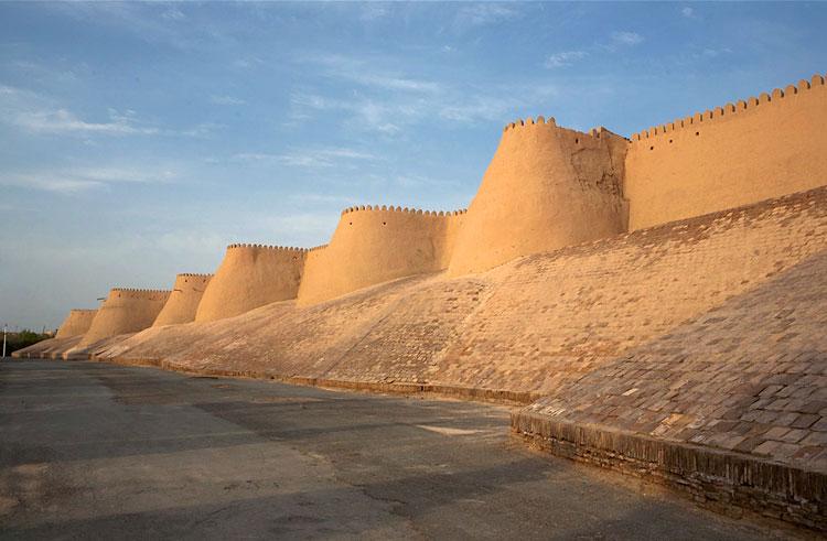 Город-крепость Хива, где погиб кн. А.Бегович-Черкасский