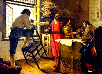 Петр I беседует  с туркменом Ходжа Непесом