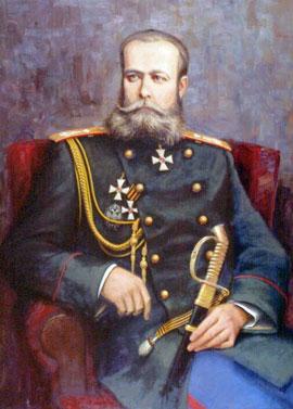 Генерал М.Д. Скобелев